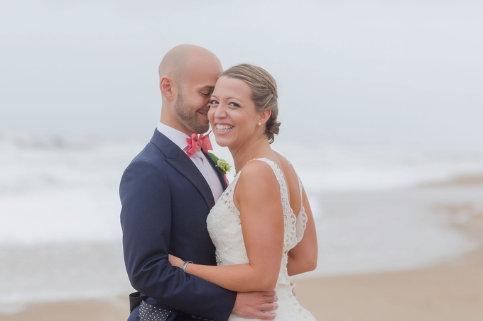 Gorgeous Kitty Hawk Pier, Outer Banks North Carolina Wedding, Sand and Waves, by Brooke Tucker Photography