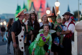 How to Rock out a Disney Trip with your Toddler, Mickey's not so scary halloween