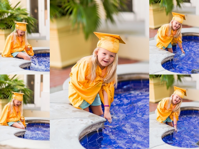 A splashing Preschool Graduation Lifestyle Photography by Brooke Tucker Photography