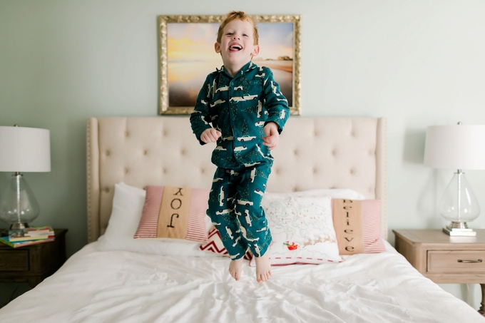 Christmas Pajamas and Milk with Mommy Lifestyle photography Session by Brooke Tucker Photography