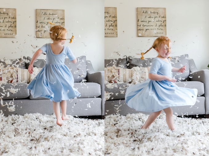 Indoor Mommy and Me, Pillow Fight
