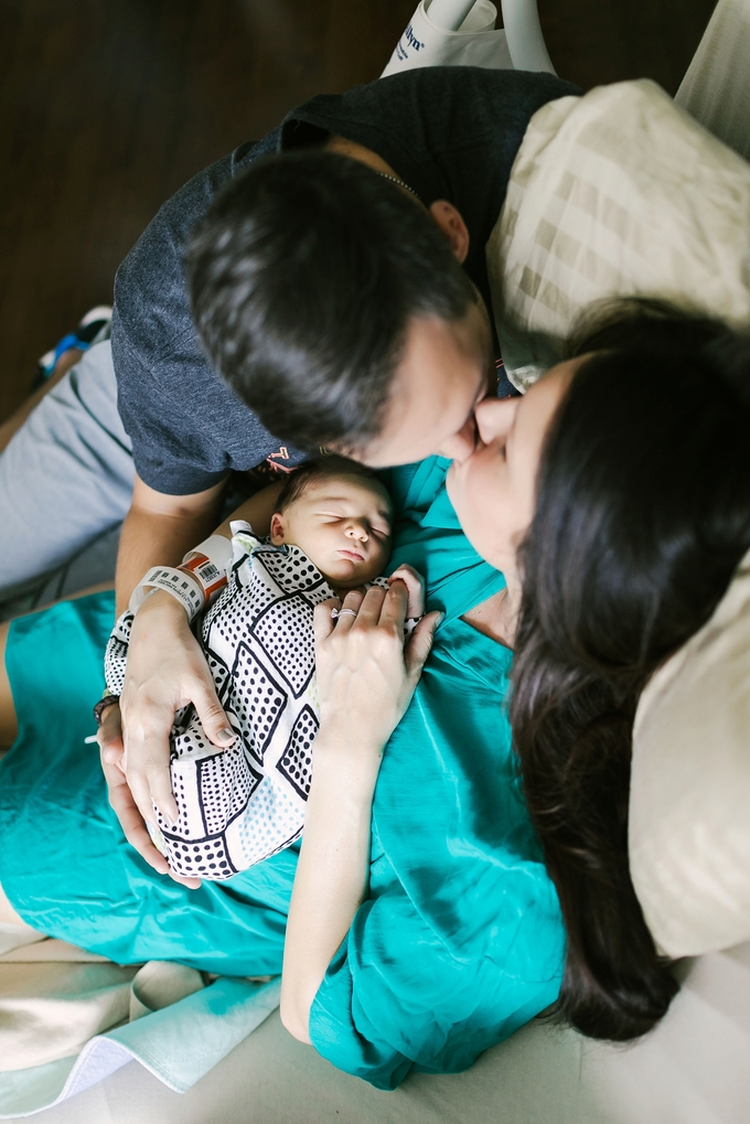 beautiful orlando hospital newborn session, fresh 48