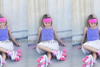 Beautiful and fun all about me roller skating session, orlando florida, brooke tucker photography