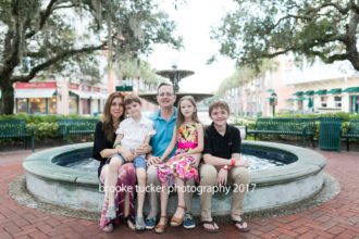 Beautiful downtown celebration family portraits, orlando family photographer brooke tucker